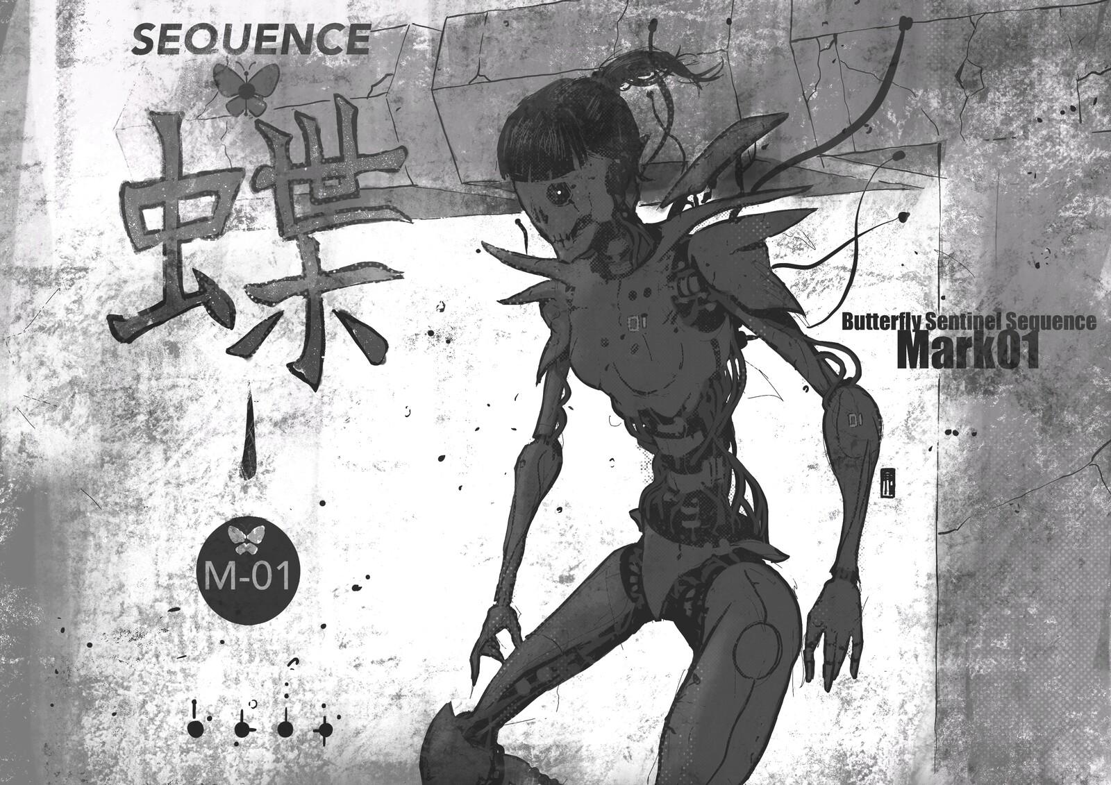 Butterflÿ Sequence//Mk-01