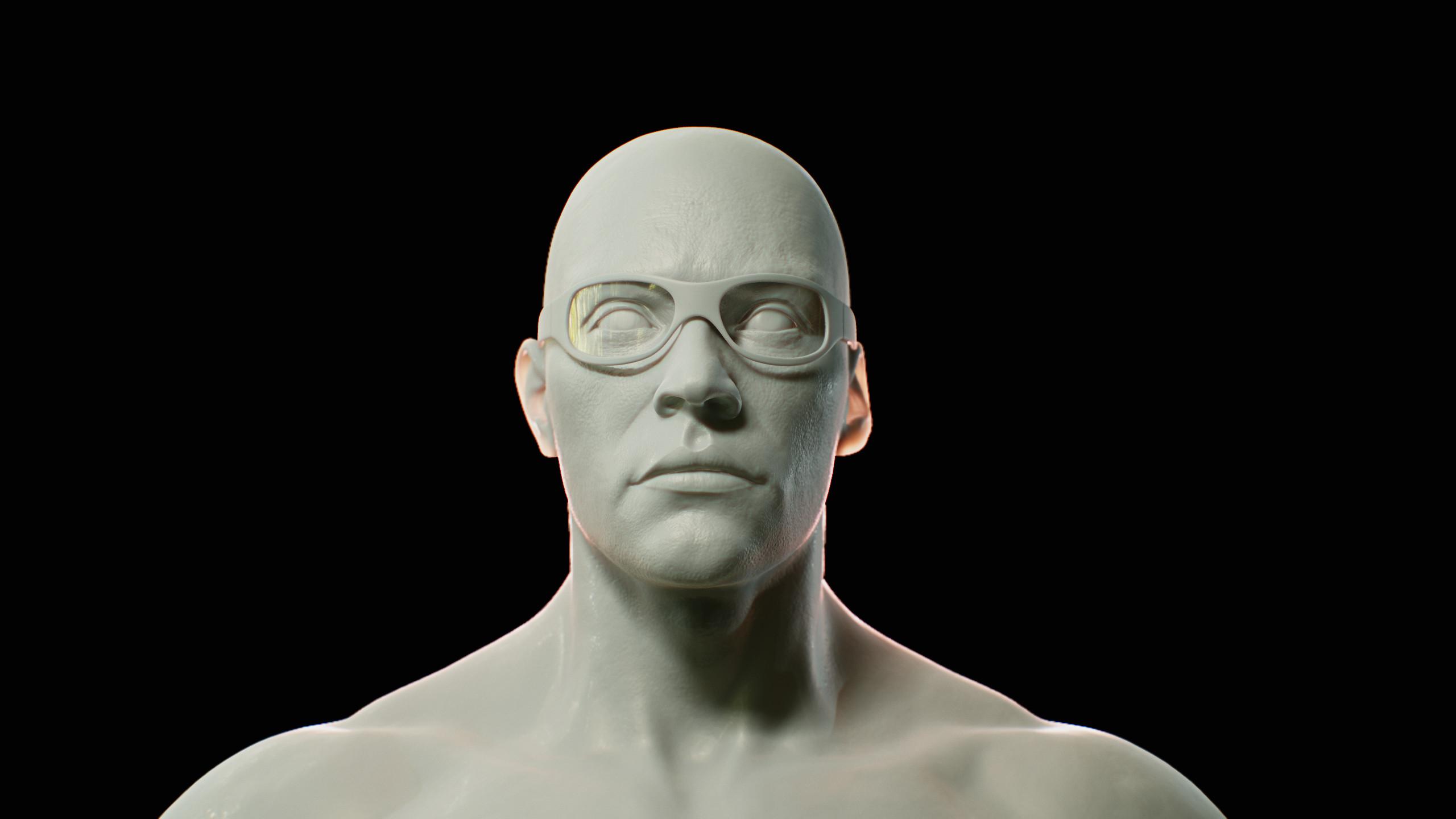 Agent Head Sculpt