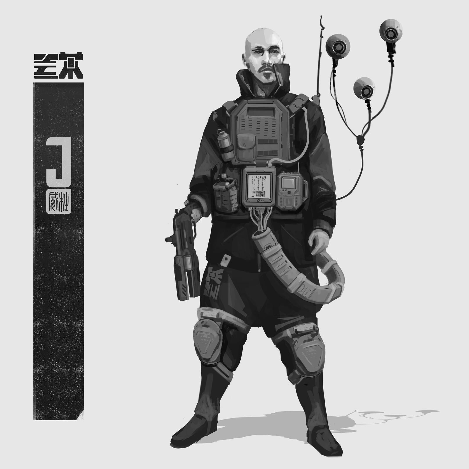 Cyber sketch
