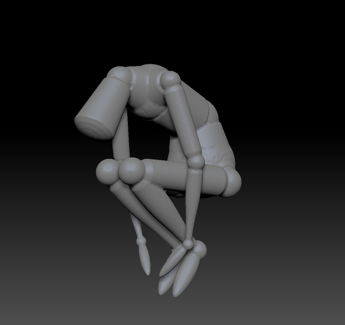 Zbrush mannequin to start things off