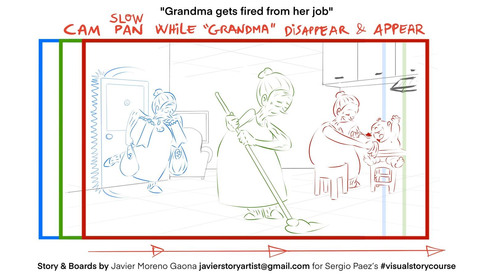 Grandma gets fired - WIP