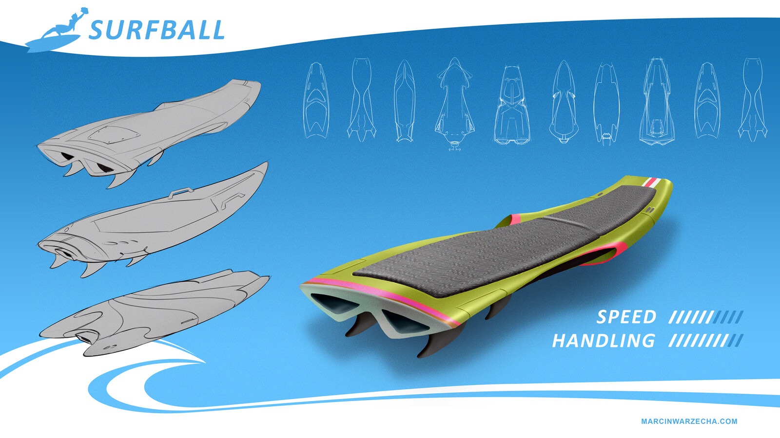 Surball Board Concept