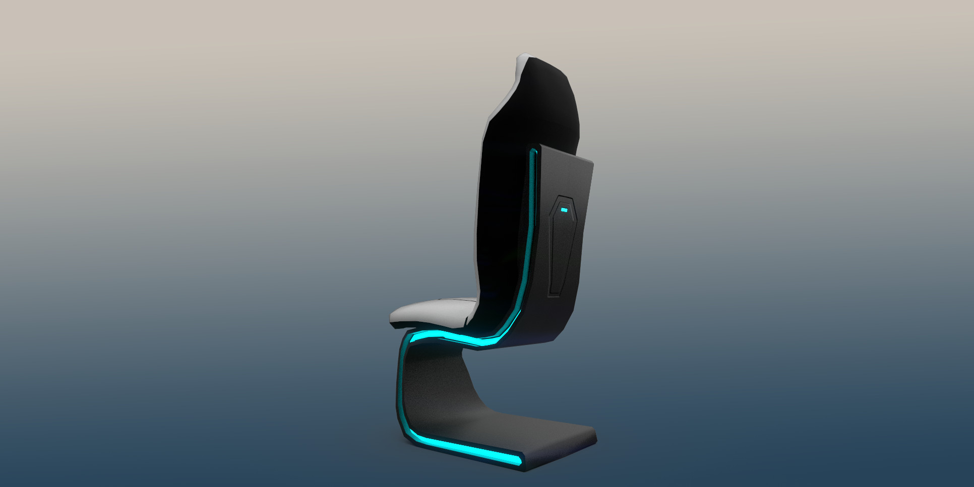 Command room seat (Back View)