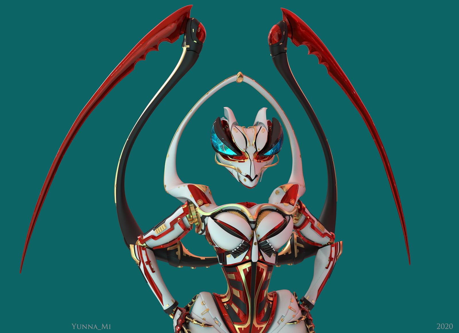 Mantis - Antoinette