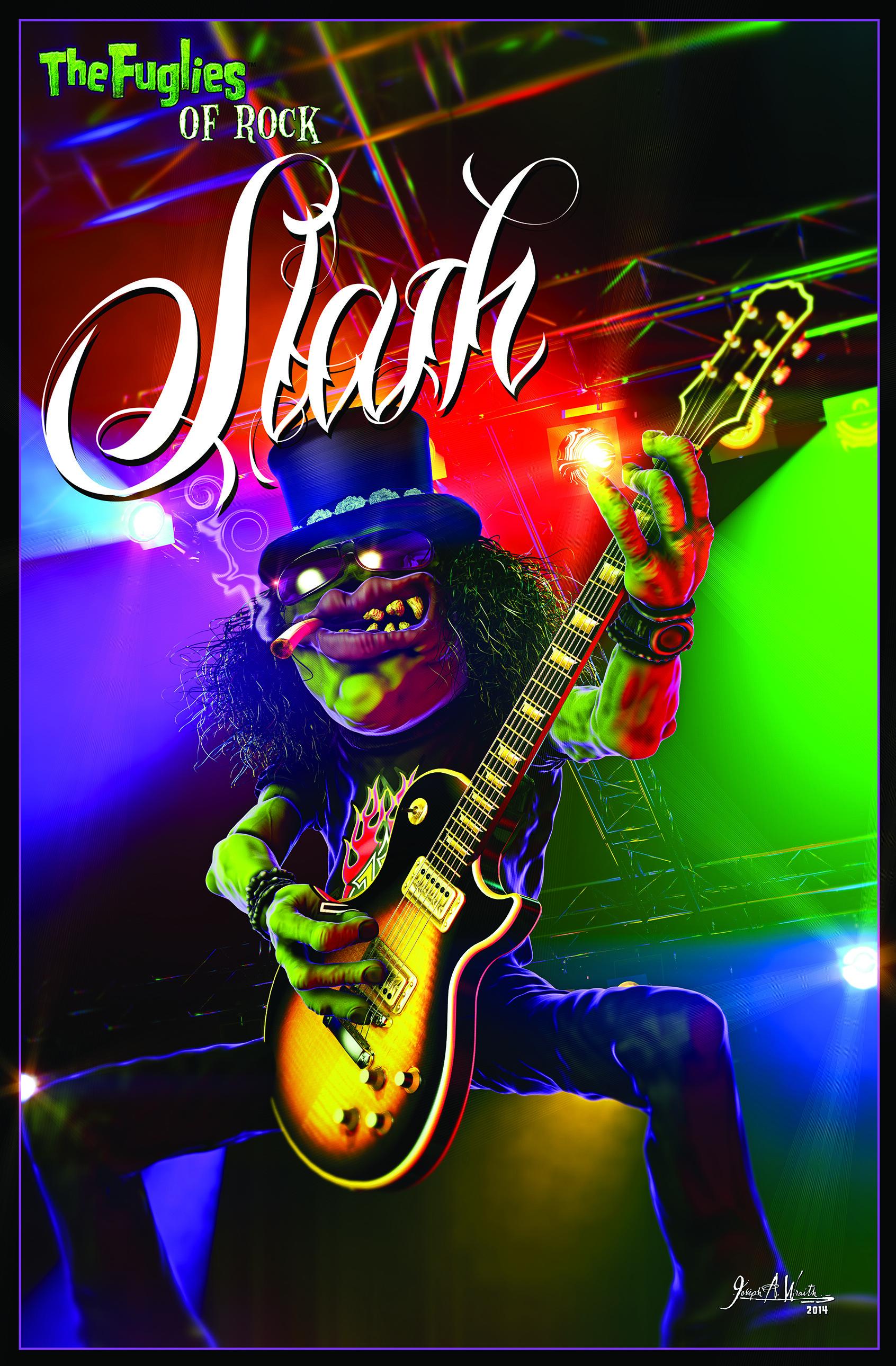 The Fuglies of Rock: Slash