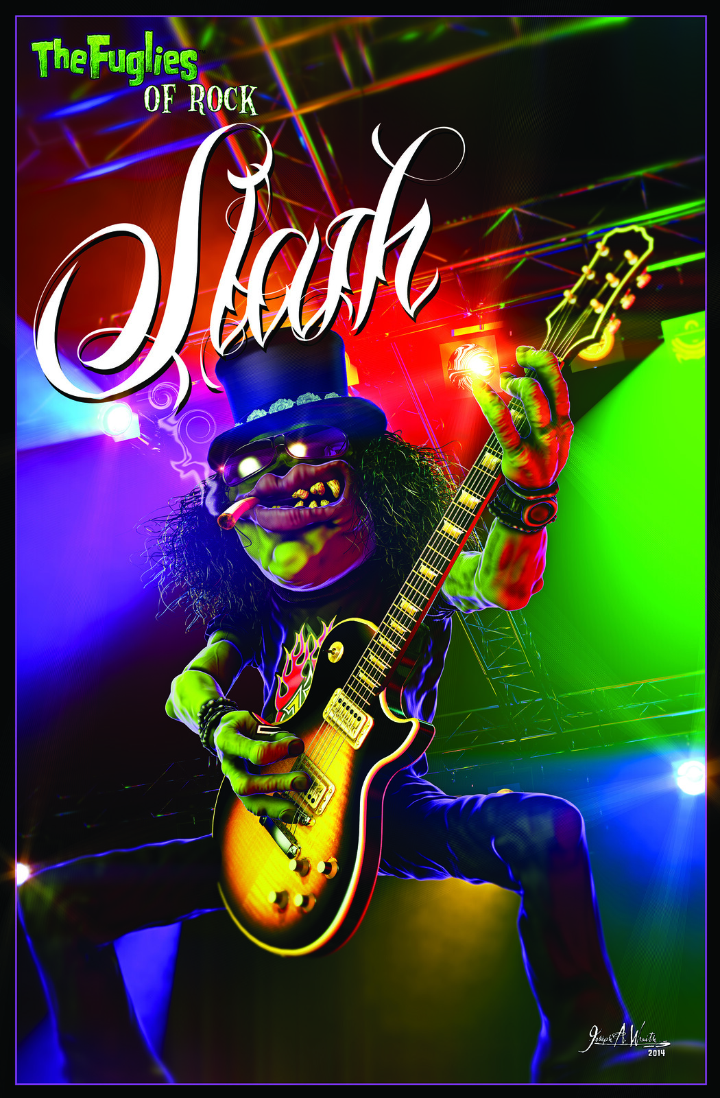 The Fuglies of Rock: Slash