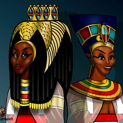Larry springfield egyptian queen