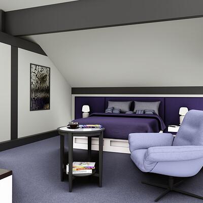 Huf Haus Bedroom