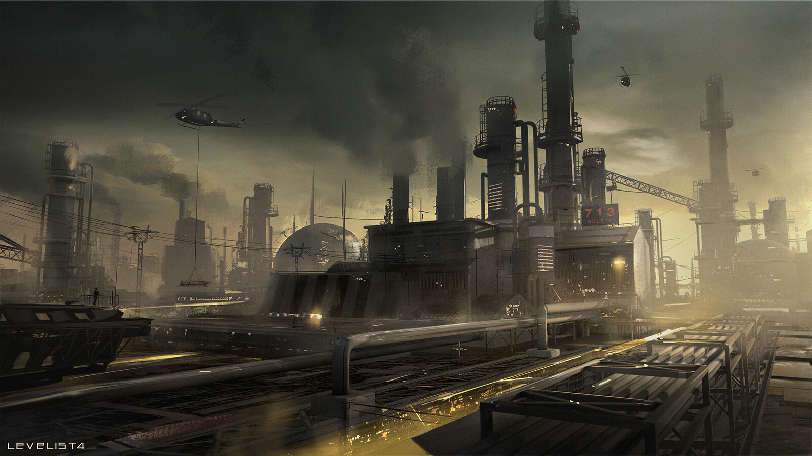 Industrial environment concept
