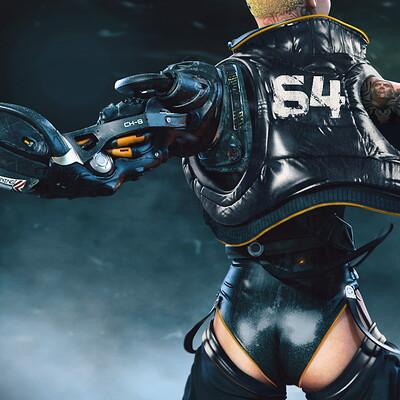 Mohammx h attaran cyborggirl 07
