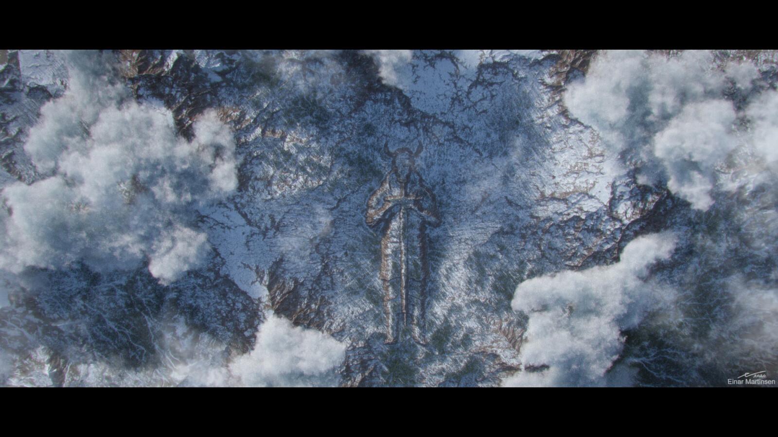 clarisse landscape test