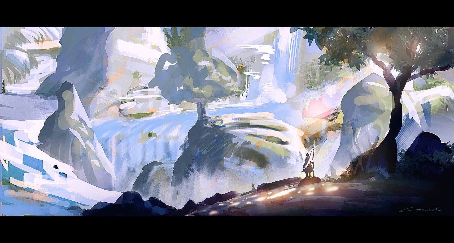 Snowcapped-mountain