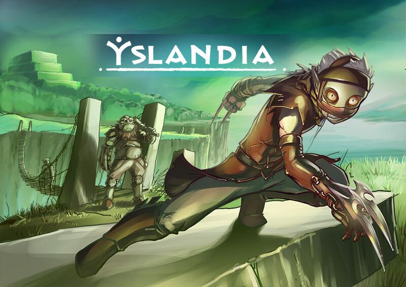 YSLANDIA - WAYRA new map/extension splashscreen
