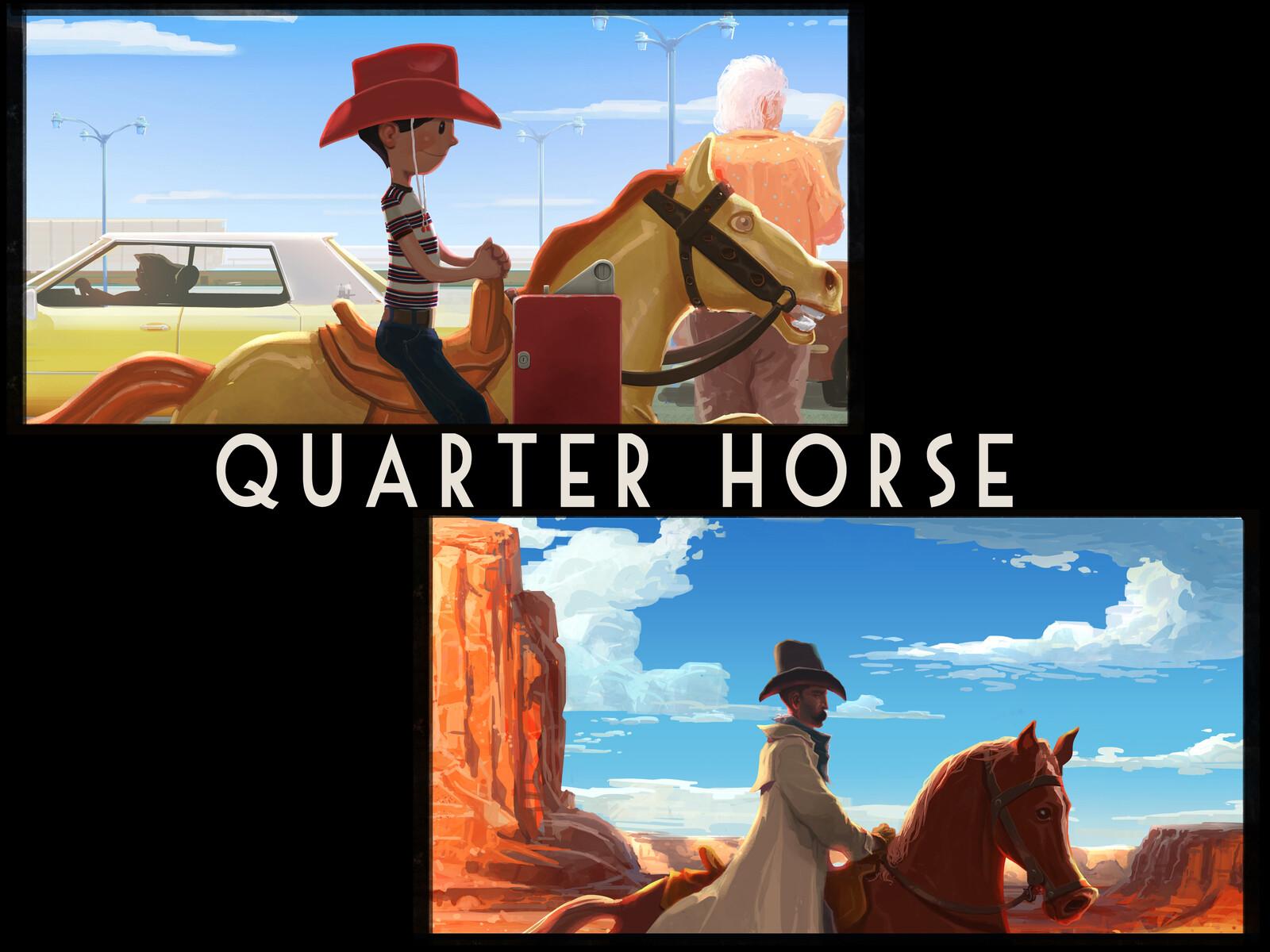 concept for 'Quarter Horse'