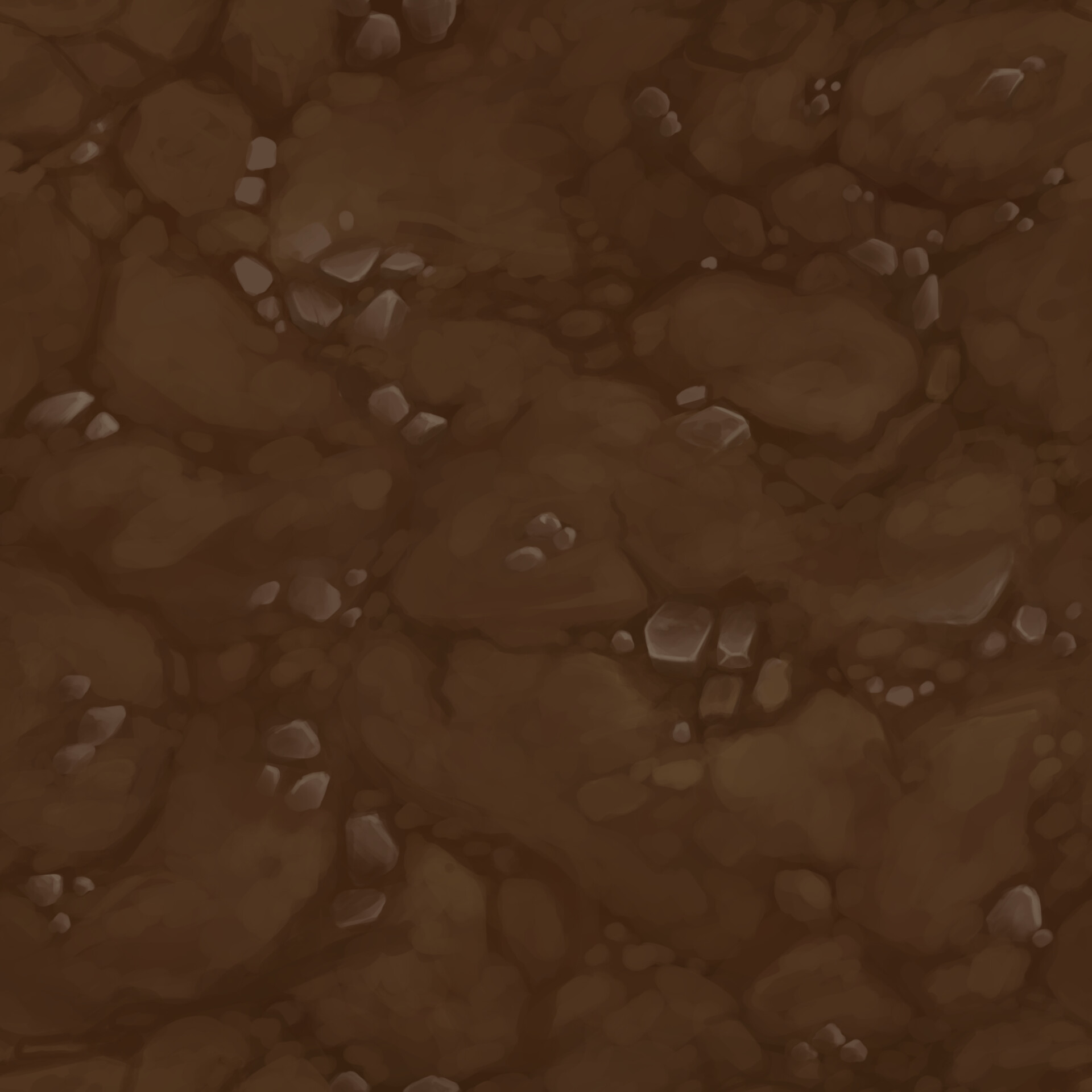 Hand-Painted/Tiling Dirt Texture
