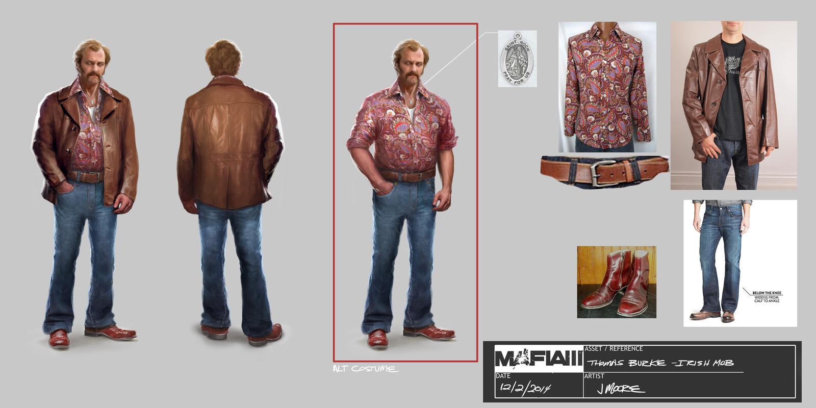 Mafia 3 character designs