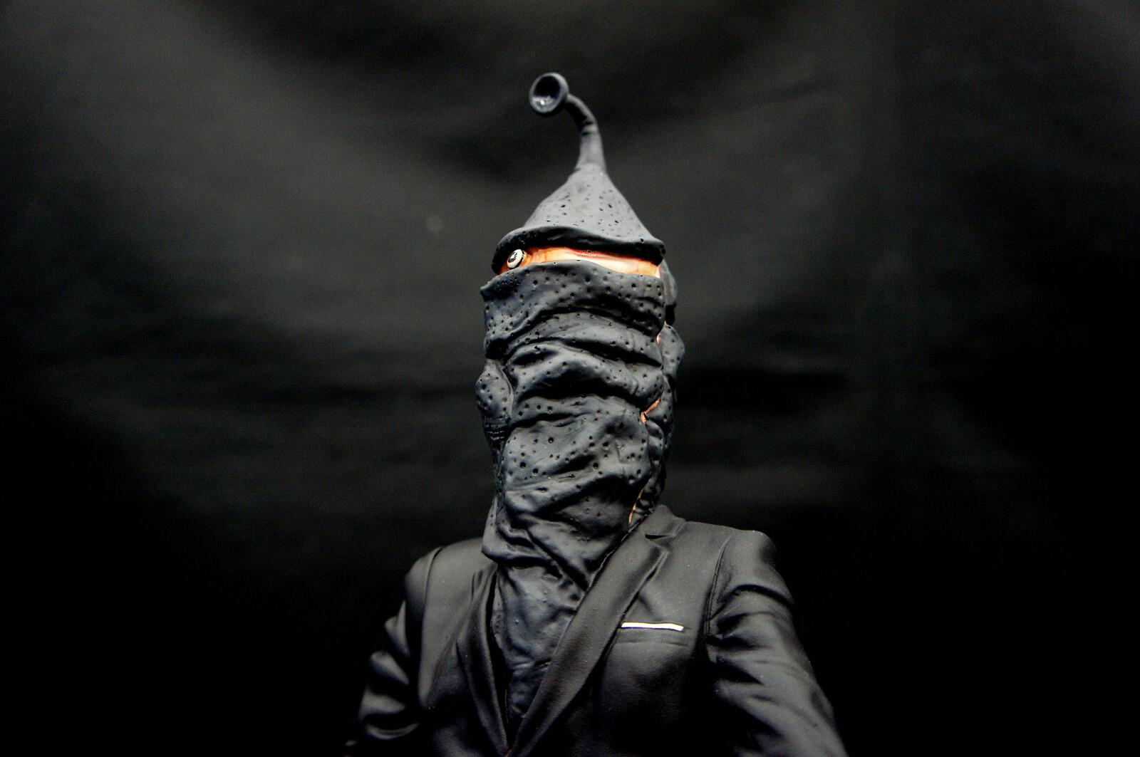 Zeton Jin Art Statue 変身怪人「ゼットン星人」 https://www.solidart.club/