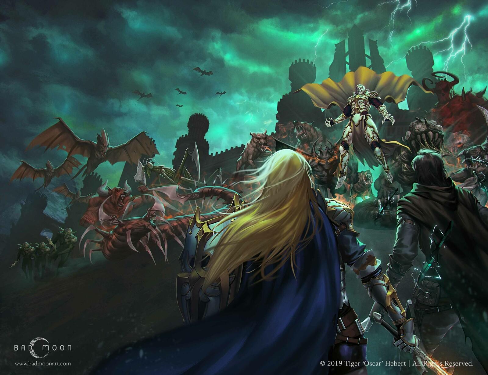 RiftBorn, Dark Pact, Demon Hunters Book III