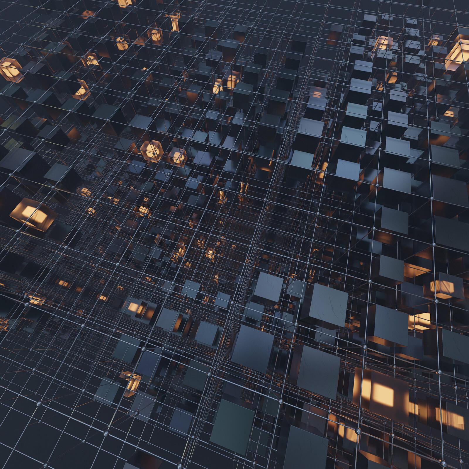 Cube Grid 527