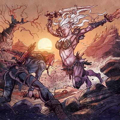 Daniele afferni daf final illustration