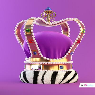 Purple Crown Cinema 4D - Octane