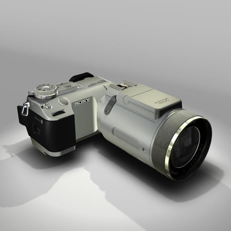 Camera - Hard Surface Modeling