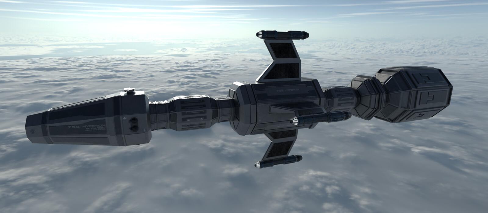 "Terran Star Force Deep Space Research Cruiser ""Hyperion"""