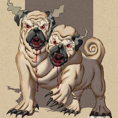 Robert shepherd death dog colors