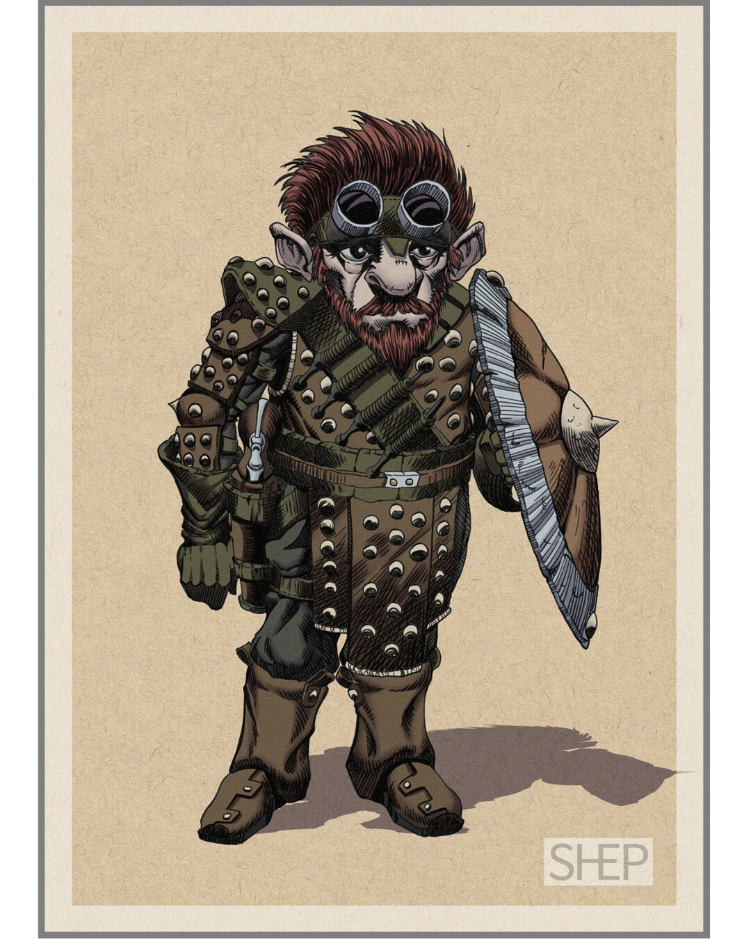 Gnome Artificer - D&D Character