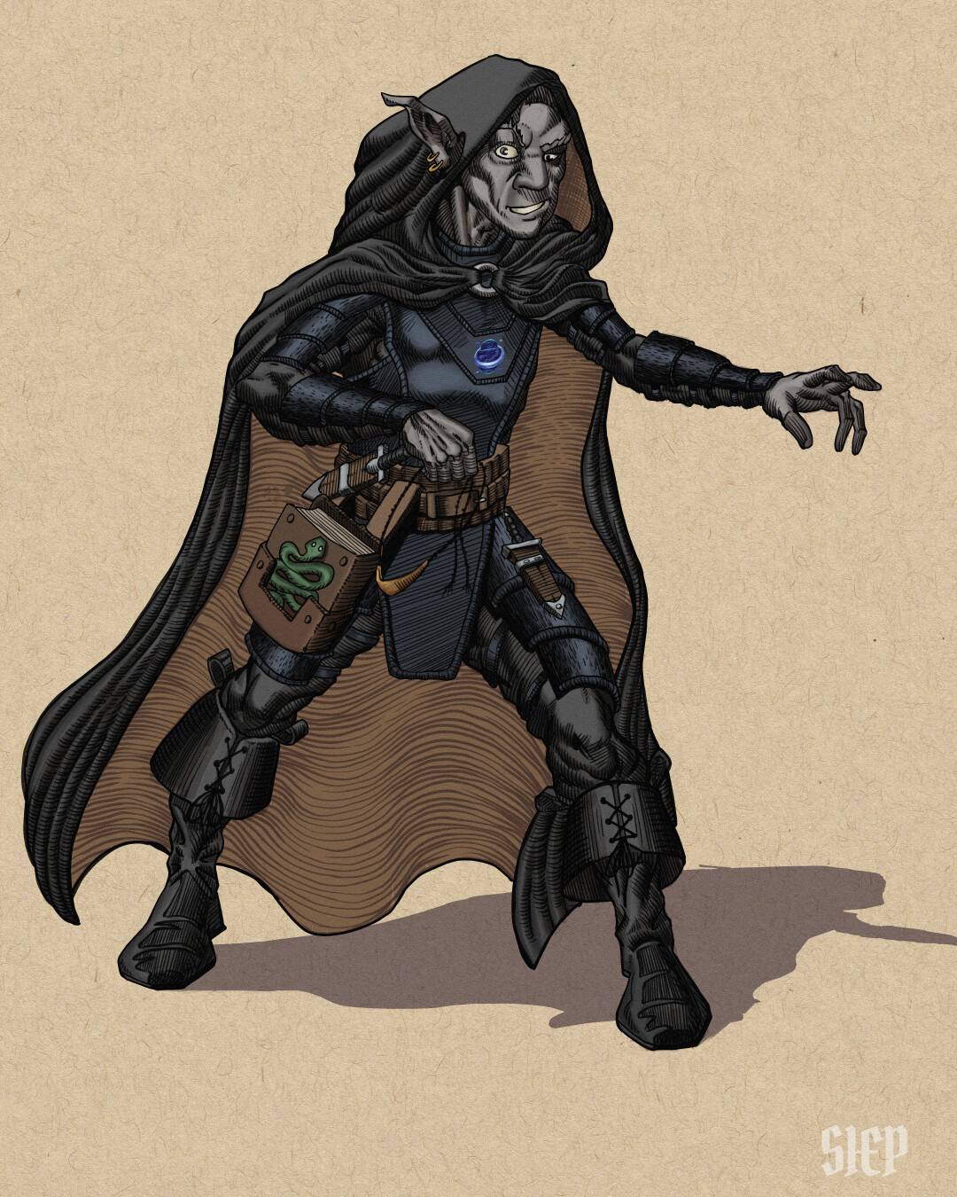 Deep Gnome - Arcane Trickster - D&D Character