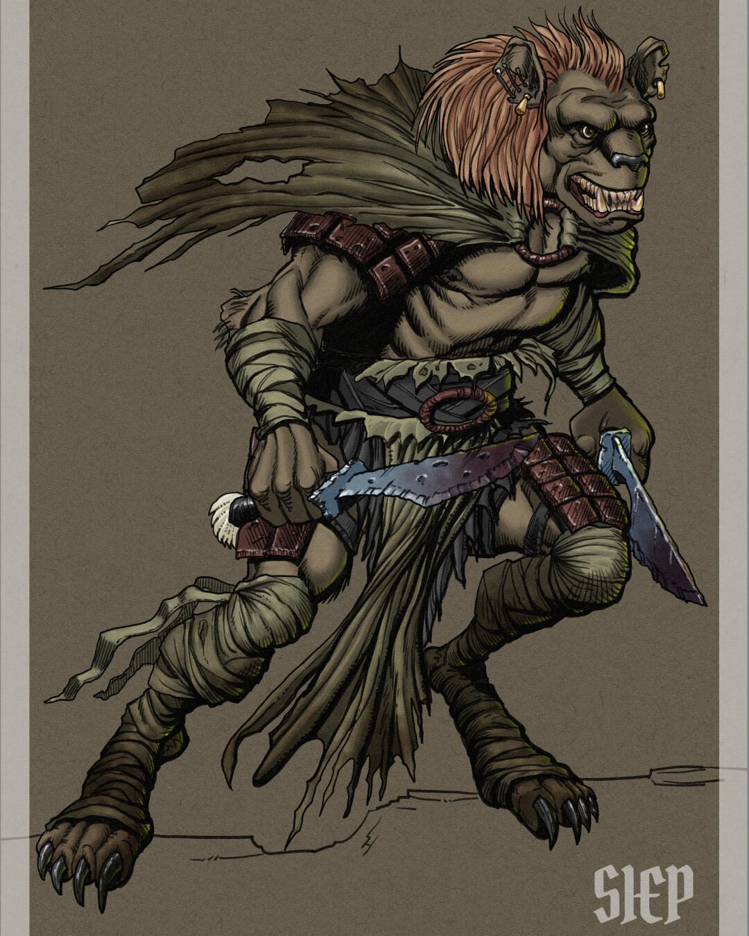 Gnoll - D&D Monster