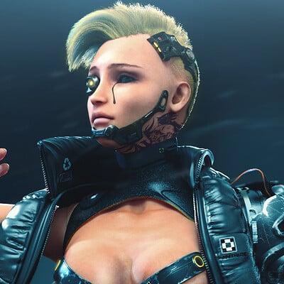 Mohammx h attaran cyborggirl 06