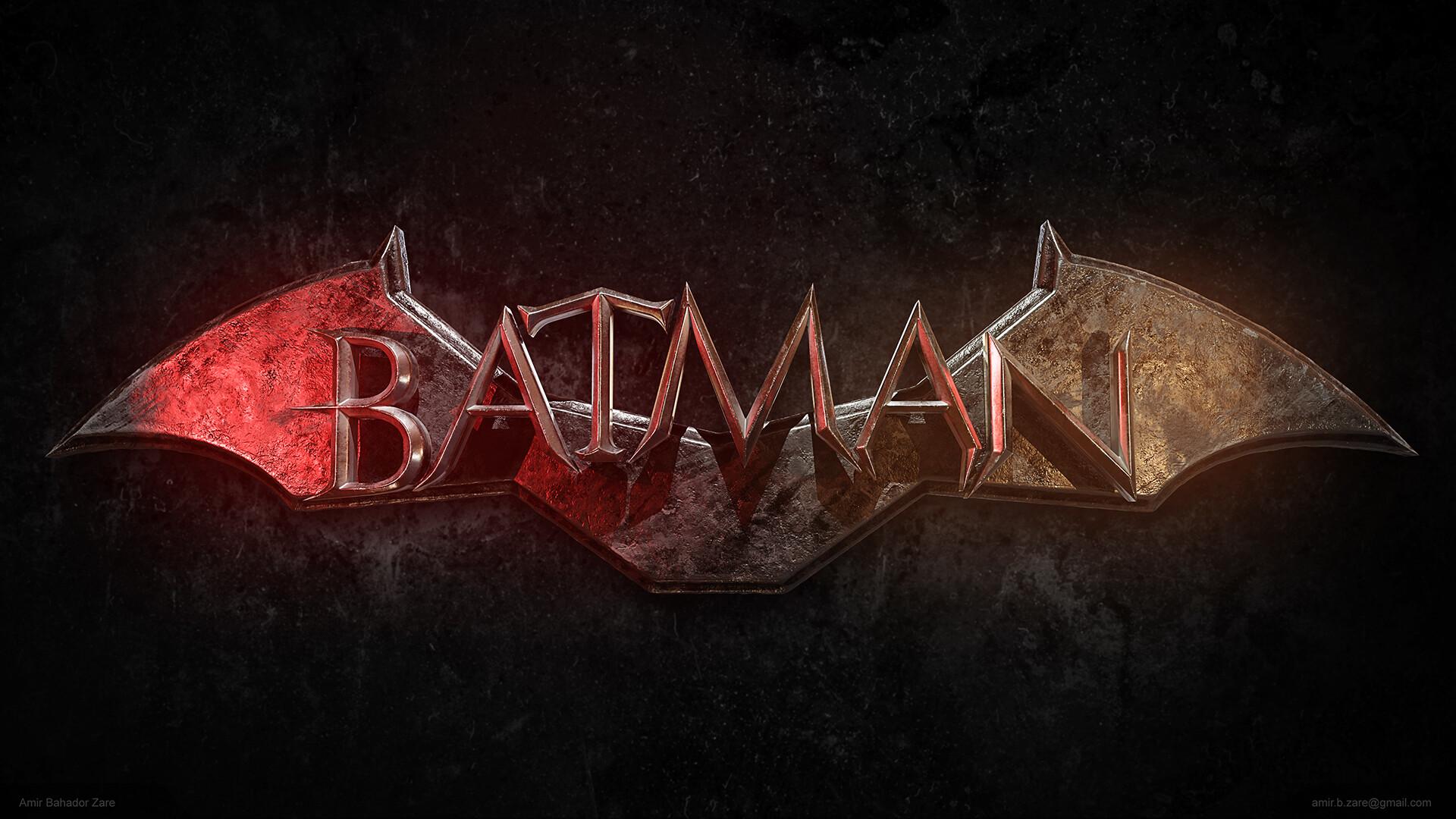 Artstation Batman 2021 Logo Wallpaper Amir Bahador Zare