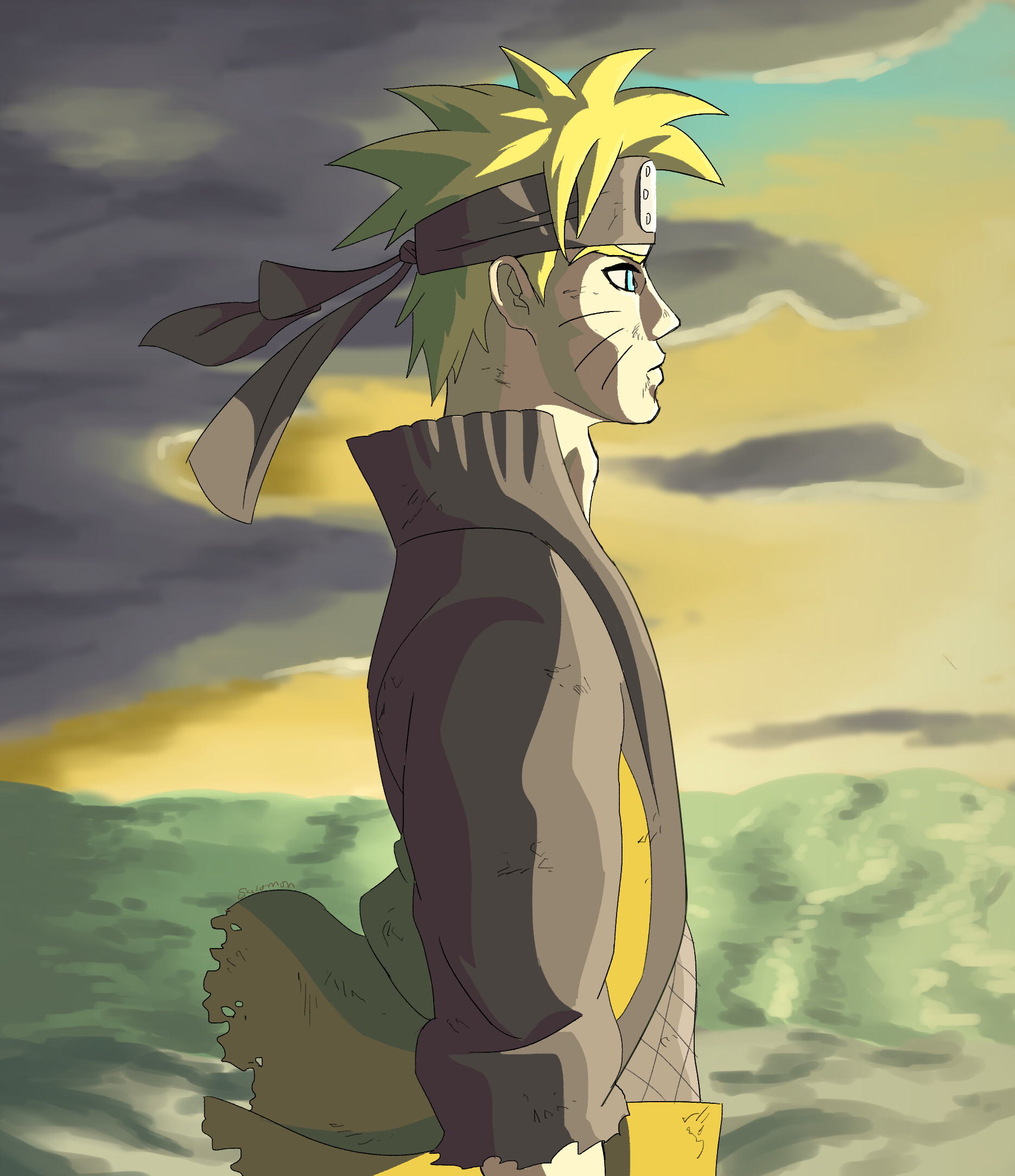 Artstation Naruto Profile Salomon Jimenez