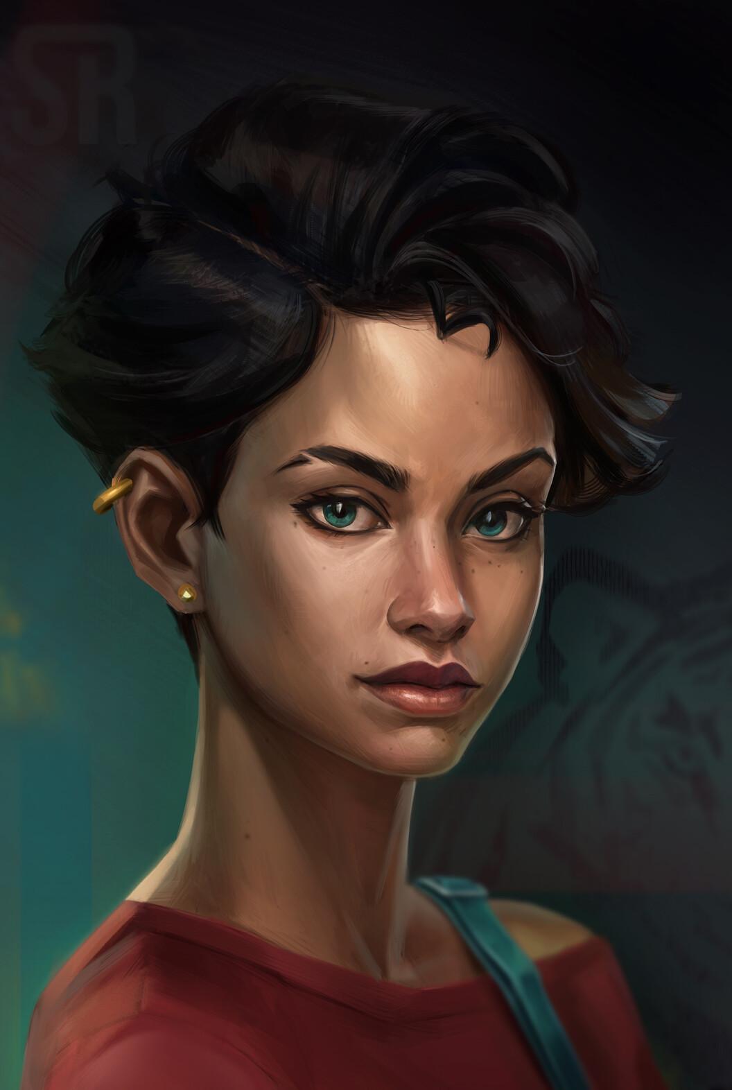Lory portrait