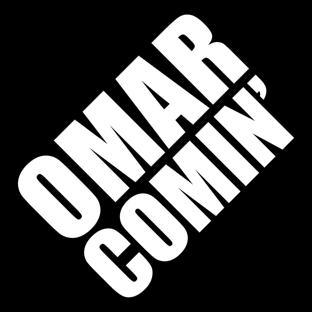 The final version of the Omar Comin' sticker
