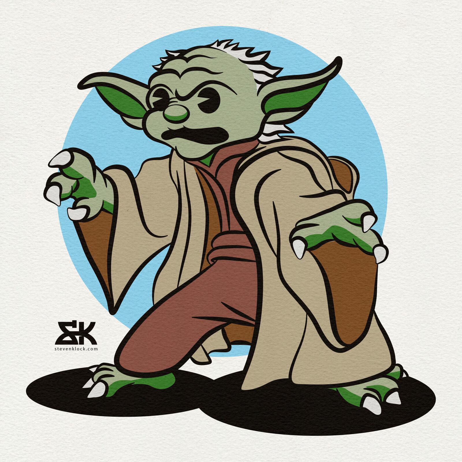 Retro Yoda