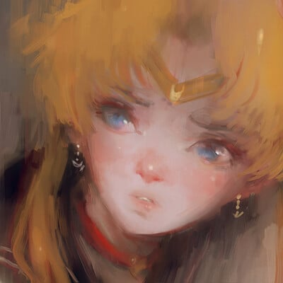 Alex chow sailor moon redraw