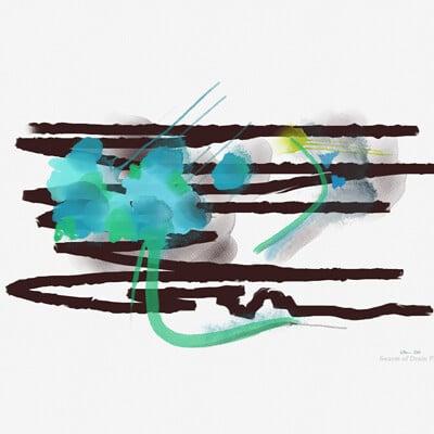 Channeled Art :: by a Swarm of Drain Flies