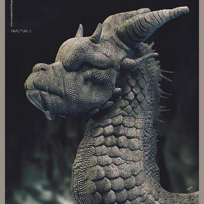Surajit sen dractur2 0 digital sculpture surajitsen may2020a