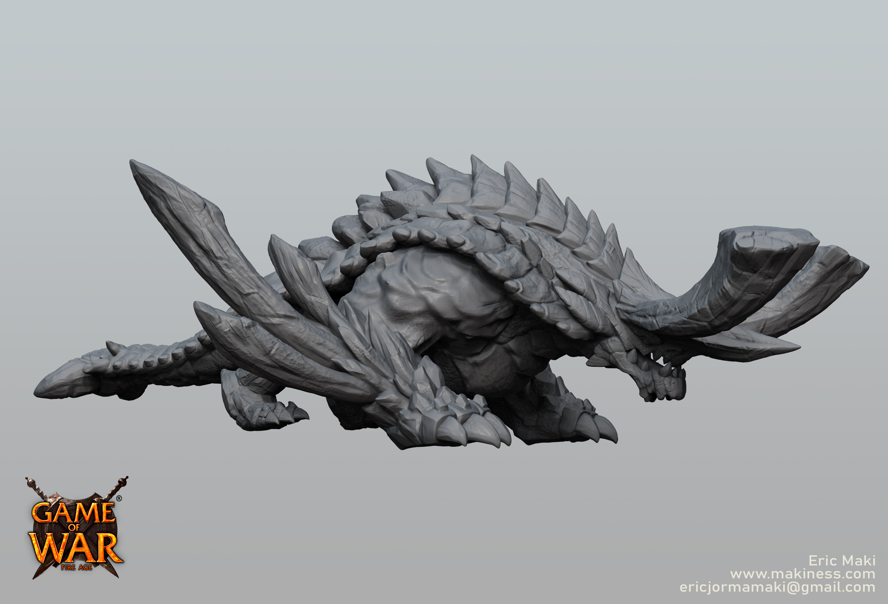 Earth Dragon Sculpt