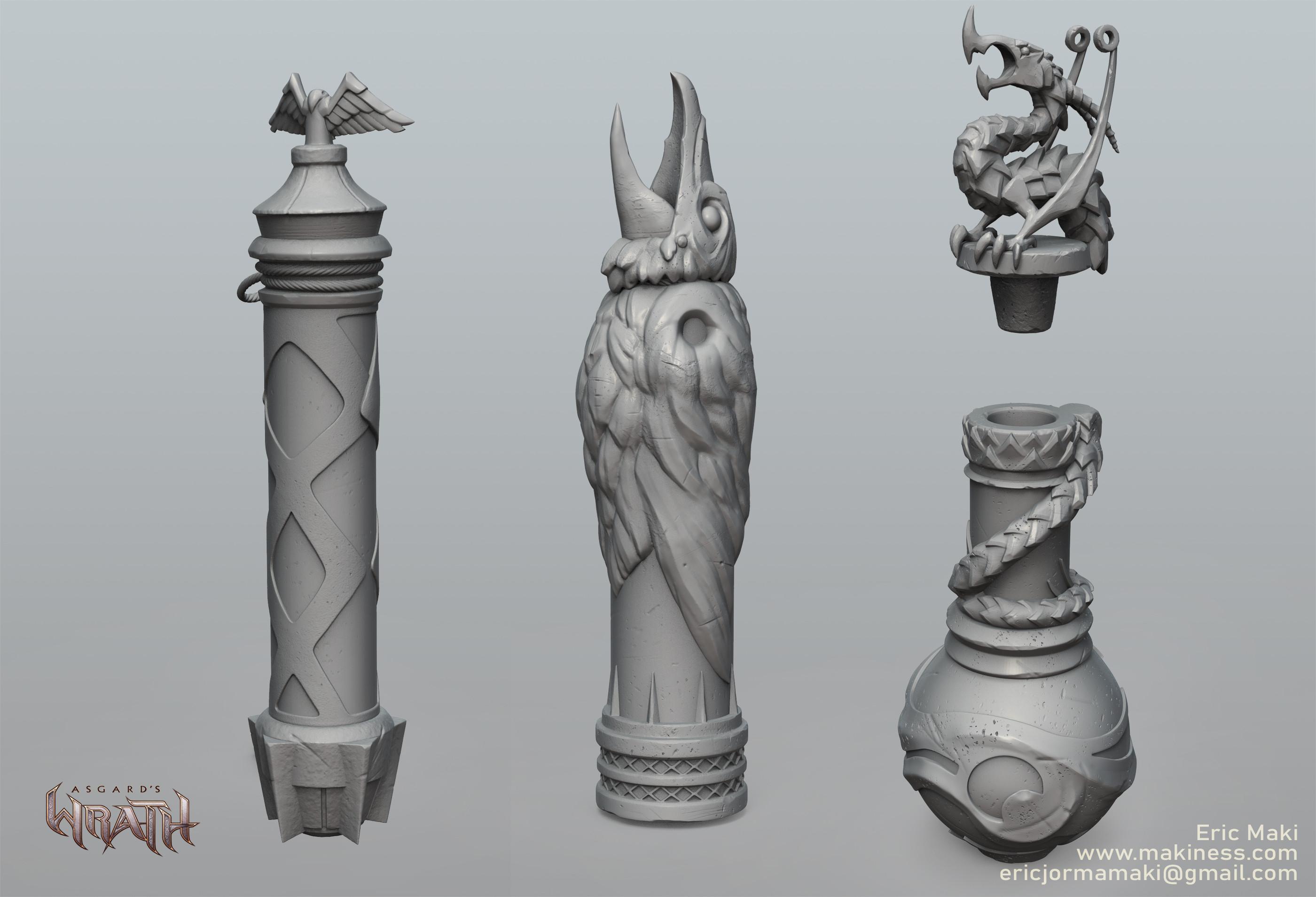 Vial Sculpts