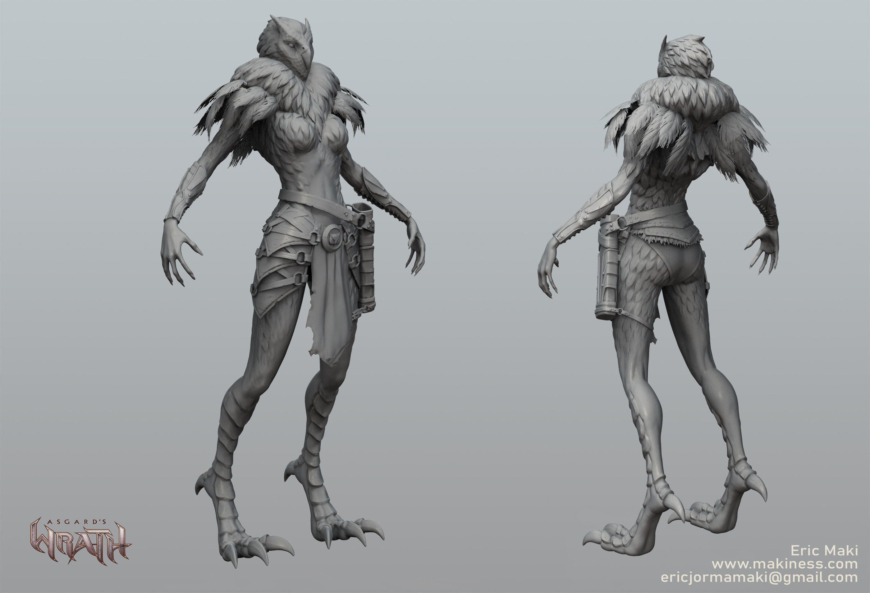 Owl Summon Sculpt