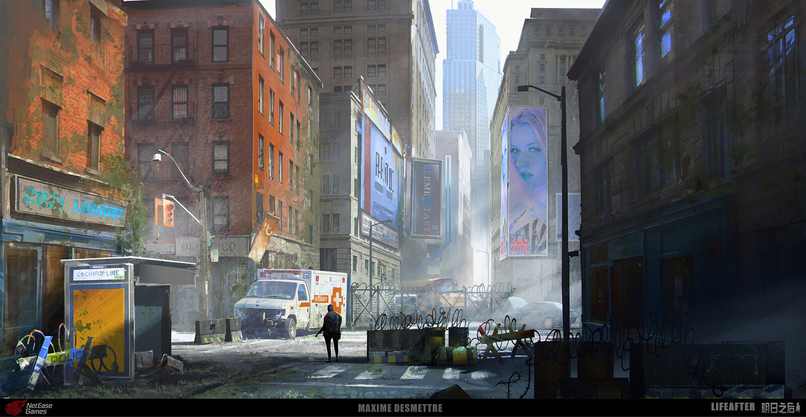 Life After - Levin City Streets Concept Art (2019)