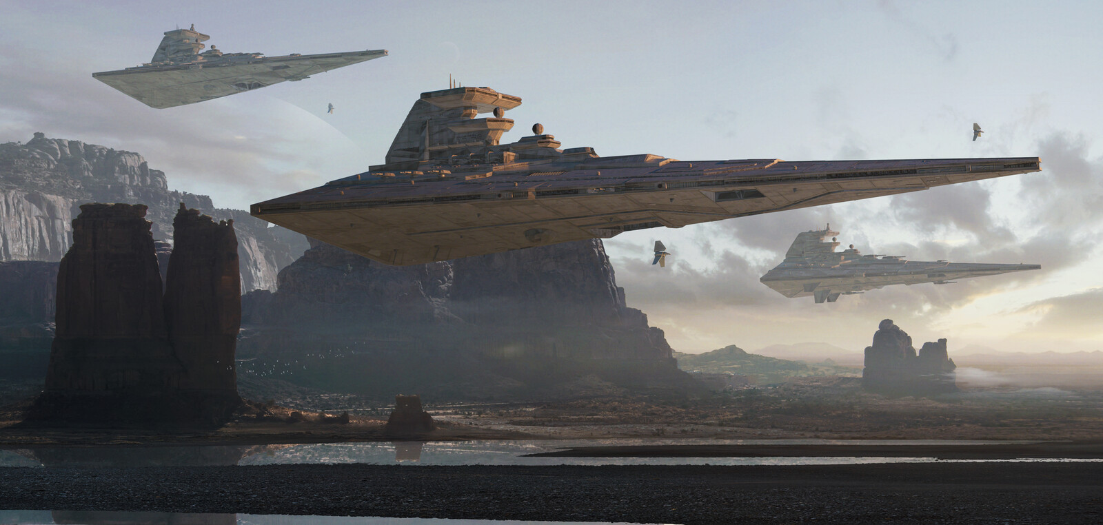 Star wars fan art. Quick concepts