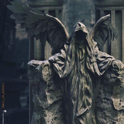 Surajit sen angel of death2 0 digital sculpture surajitsen may2020 aa