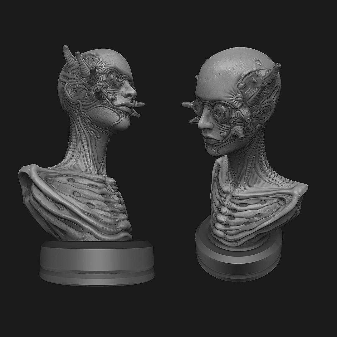Final sculpt - ZBrush shots