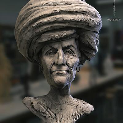 Surajit sen manveer3 0 digital sculpture surajitsen may2020 a