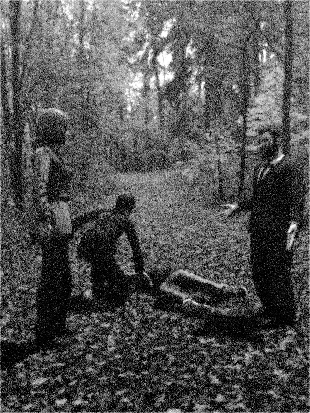 Strange deaths in a wood