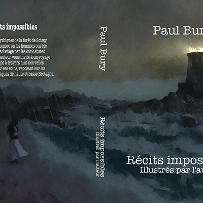 Paul bury recits impossibles couverture artstation